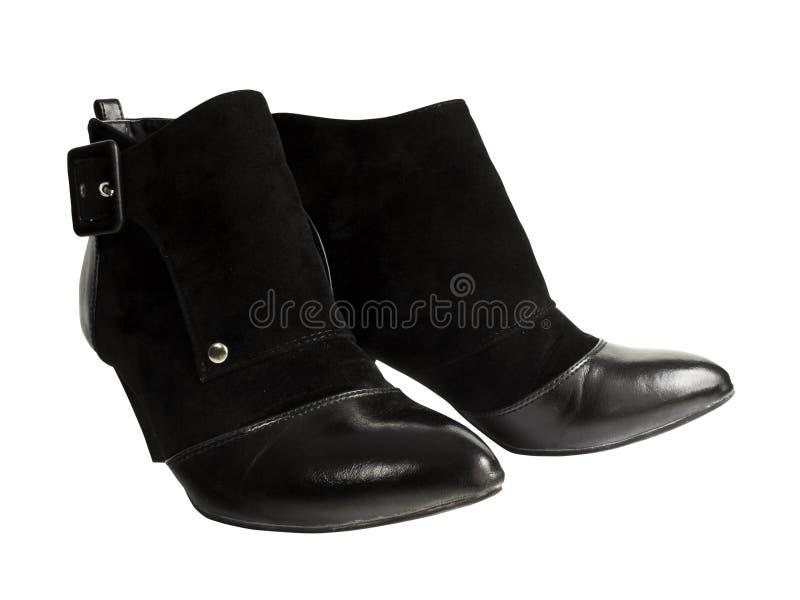 черный ботинок стоковые изображения