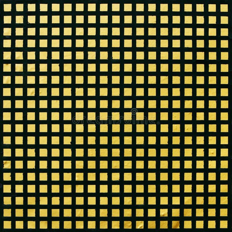 черный желтый цвет стены поверхности картины решетки стоковые изображения