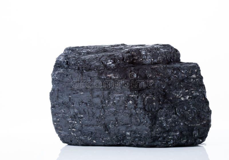 Черный жирный каменный уголь стоковая фотография