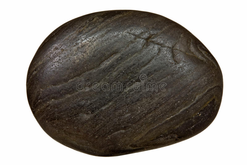 Черный камень СПЫ стоковое изображение