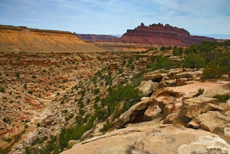 Черный каньон дракона стоковое фото
