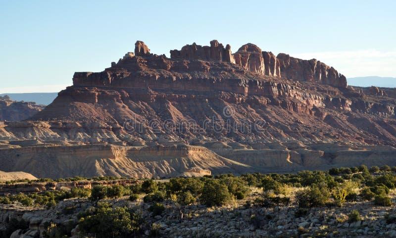 Черный каньон Юта дракона стоковые фото