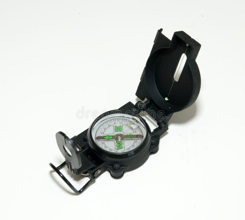 черный компас стоковое изображение