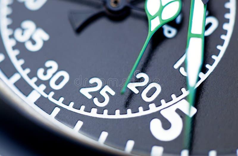 Download Черный конец секундомера вверх Стоковое Фото - изображение насчитывающей движение, фронт: 33739368