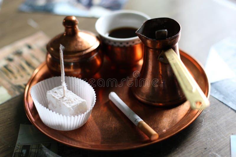 Черный боснийский кофе стоковые изображения rf