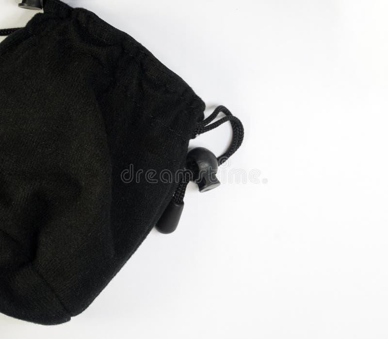 Черный малый мешок стоковые фото