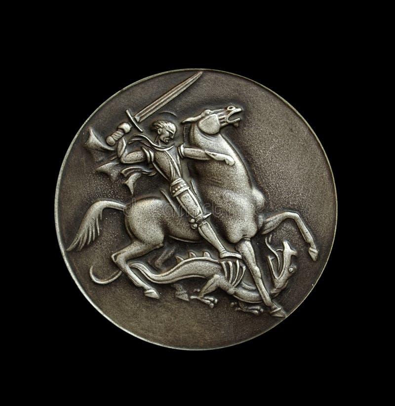 черный медальон сверх стоковая фотография rf