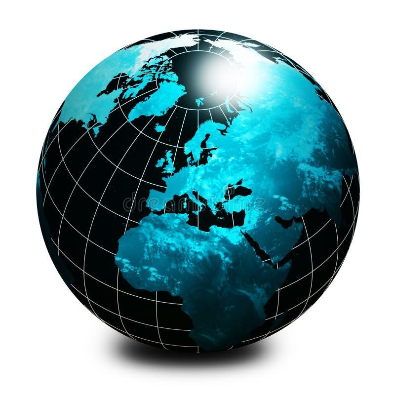 черный мир глобуса бесплатная иллюстрация