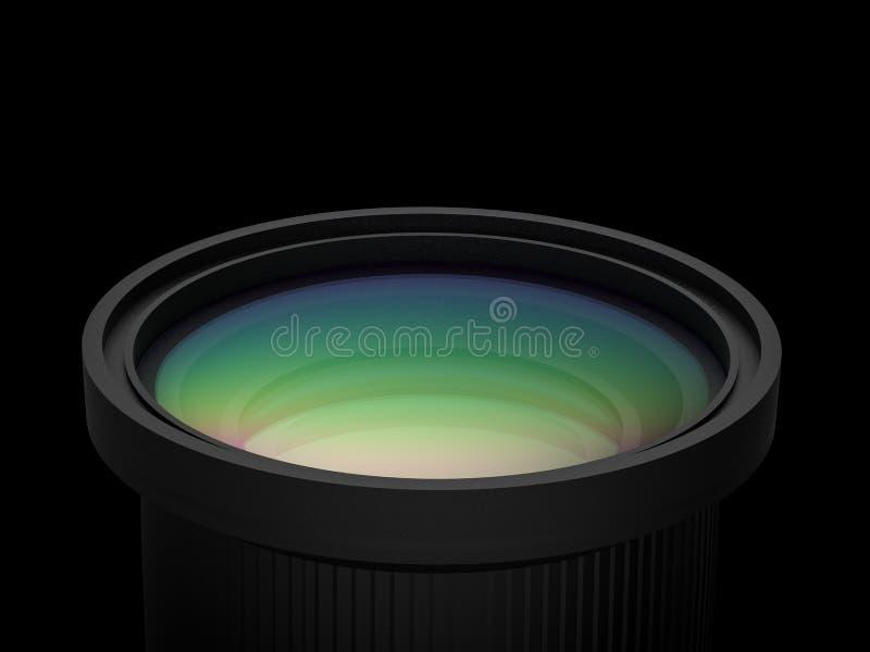 Черный объектив фотоаппарата бесплатная иллюстрация
