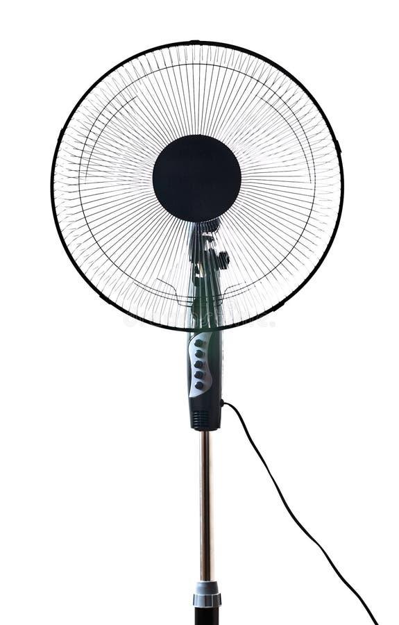 черный офис вентилятора стоковые фото