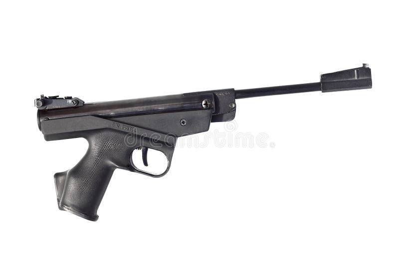 Черный пистолет воздуха стоковая фотография