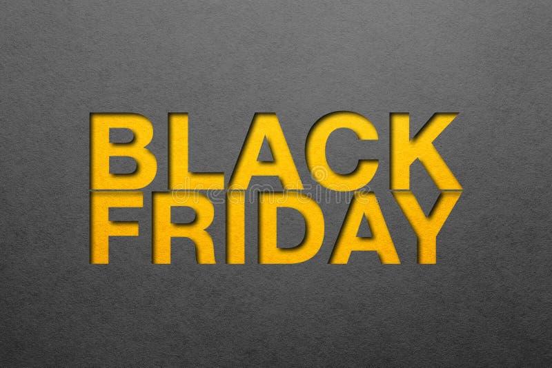 Черный плакат пятницы стоковые изображения rf