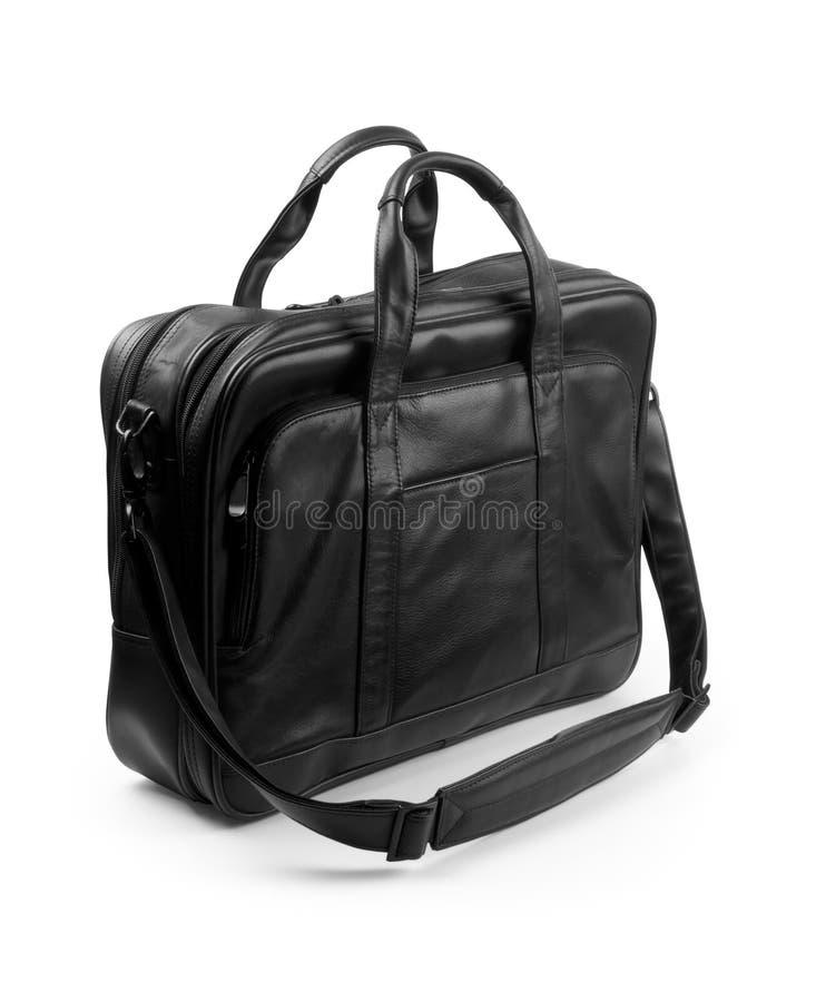 черный портфель стоковое фото rf
