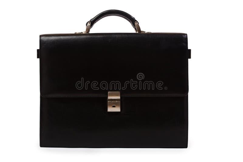 черный портфель стоковая фотография