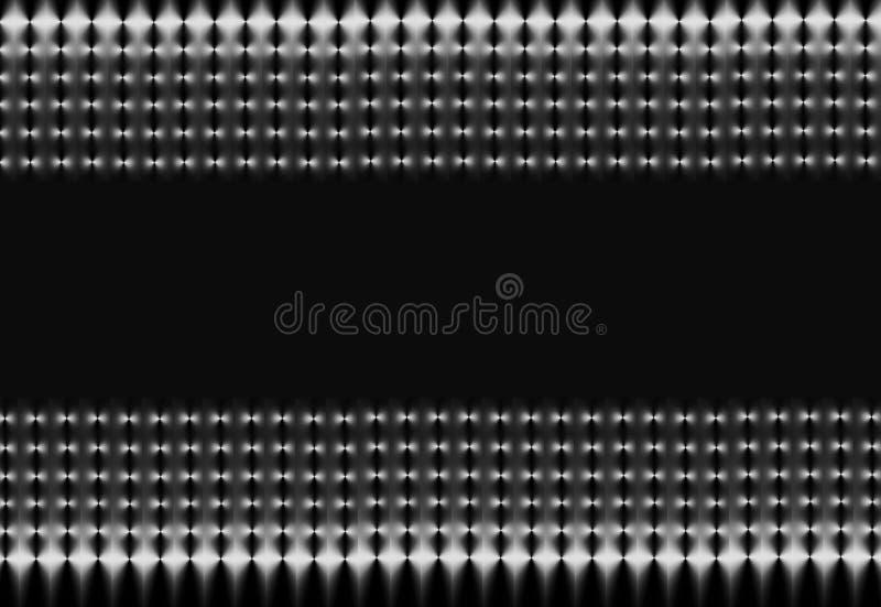 черный серебр сетки иллюстрация штока