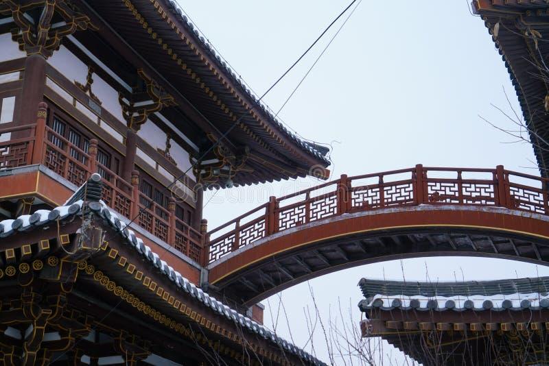 Черный/синь/` виска XI дракона Qinglong Китай стоковое фото