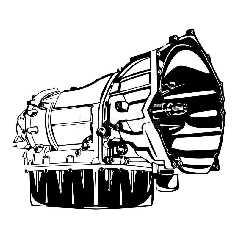 Черный силуэт передачи стоковое фото rf