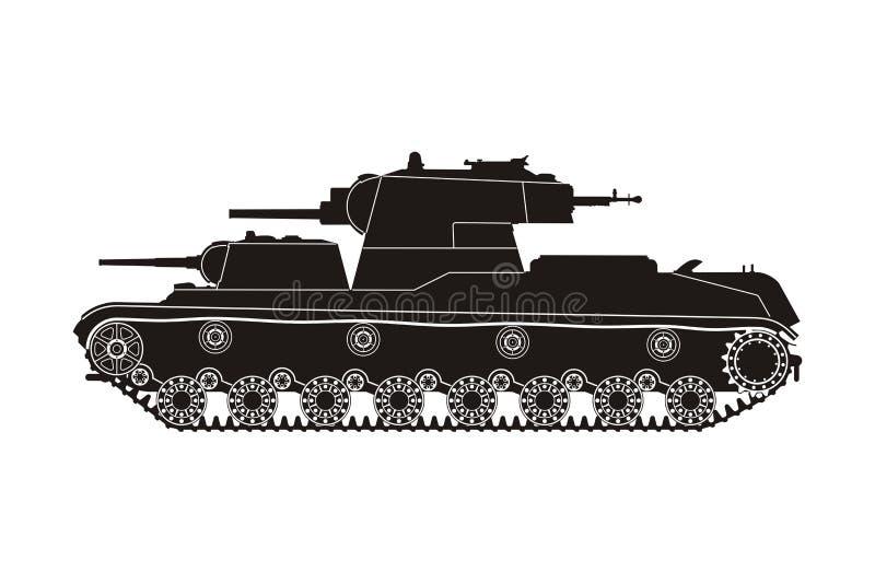 Черный танк SMK бесплатная иллюстрация
