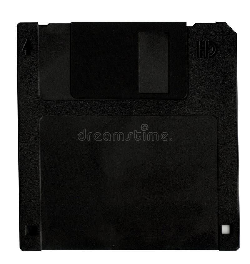 черный флапи-диск диска стоковая фотография