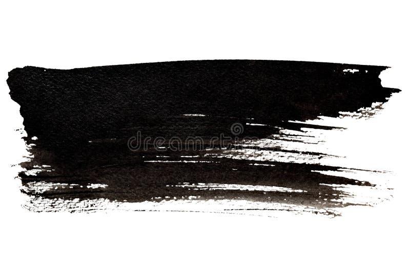 черный ход щетки иллюстрация вектора