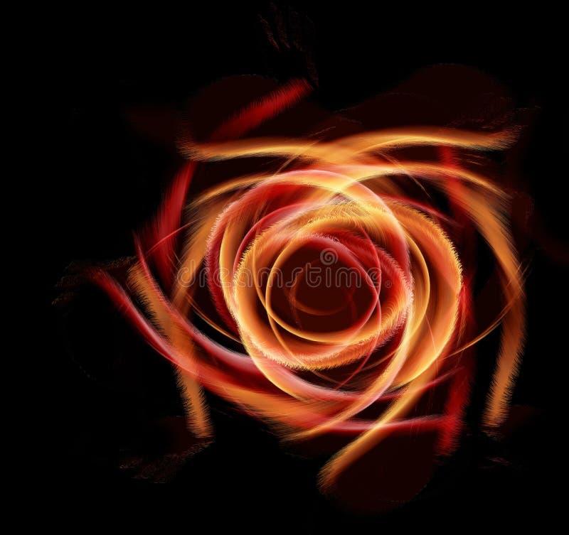черный цветок стоковые фотографии rf