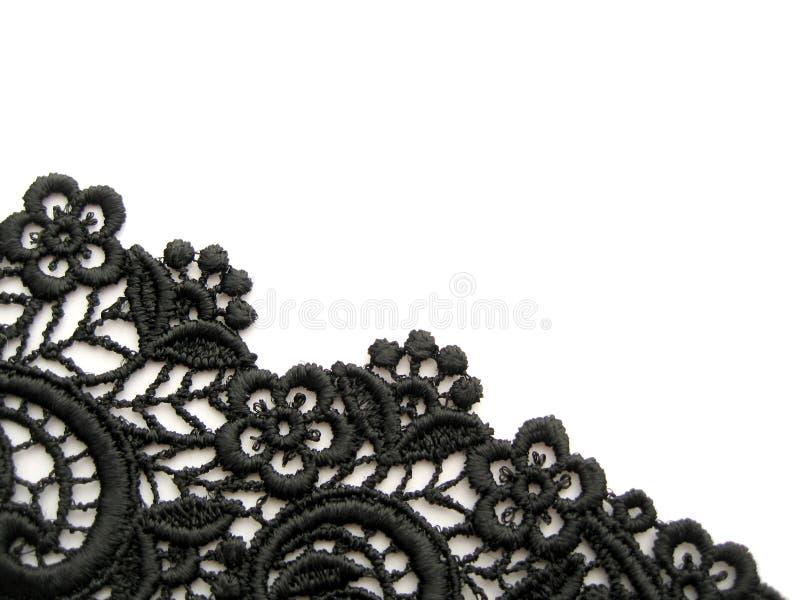 черный шнурок стоковые изображения rf