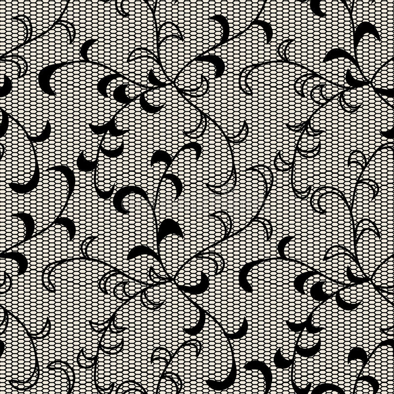 Черный шнурок иллюстрация вектора