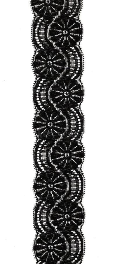 черный шнурок стоковое фото rf