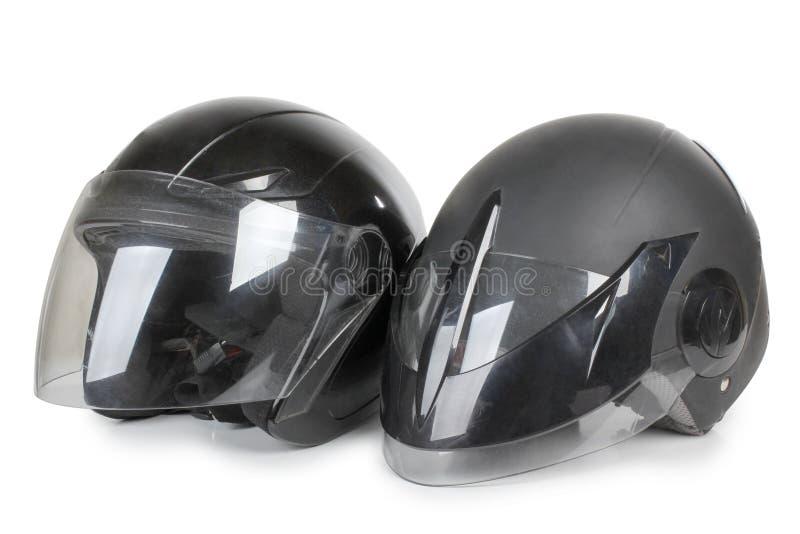 черный шлем стоковые фотографии rf