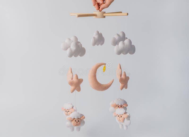 Чернь с различными игрушками в форме животных стоковая фотография rf