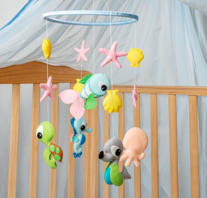 Чернь с различными игрушками в форме животных стоковое изображение rf