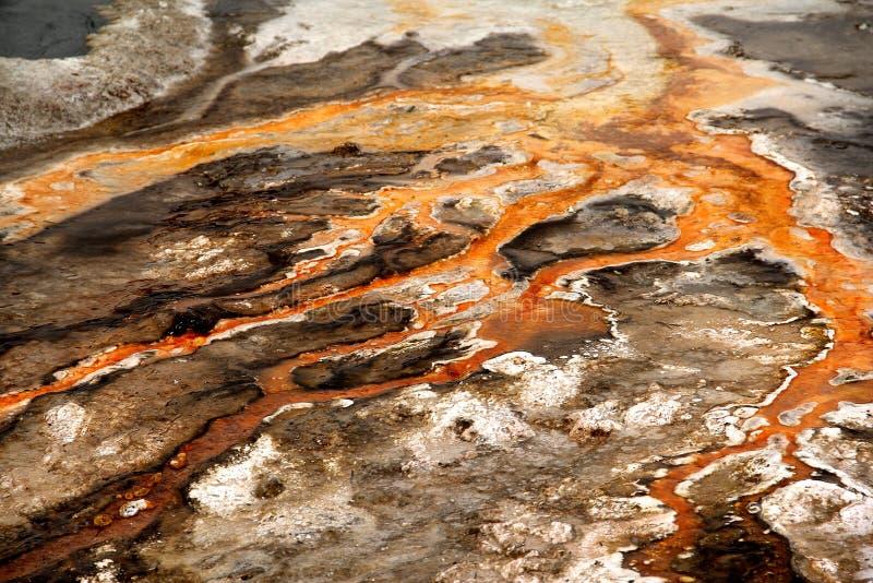 Чертежи воды огня стоковое изображение rf