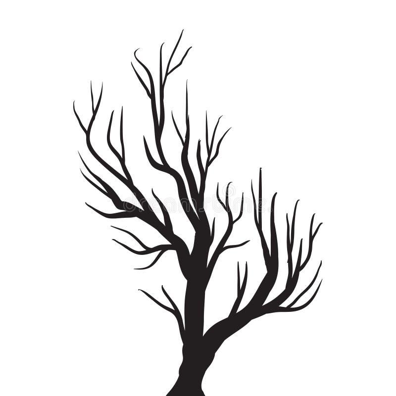 Чертеж вектора дерева бесплатная иллюстрация