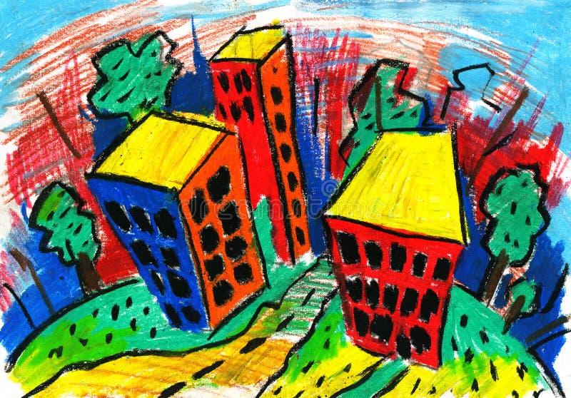 чертеж купола города зодчества иллюстрация штока