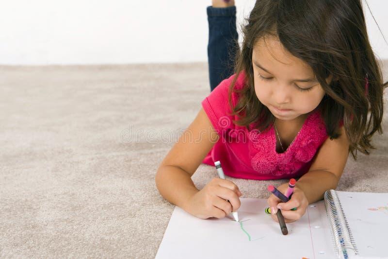 чертеж ребенка стоковые фотографии rf