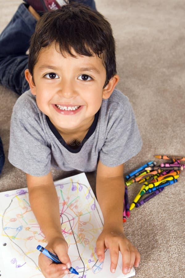 чертеж ребенка стоковые фото