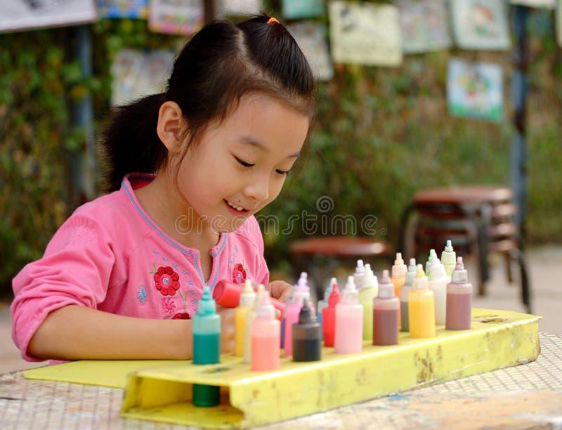чертеж ребенка стоковое фото rf