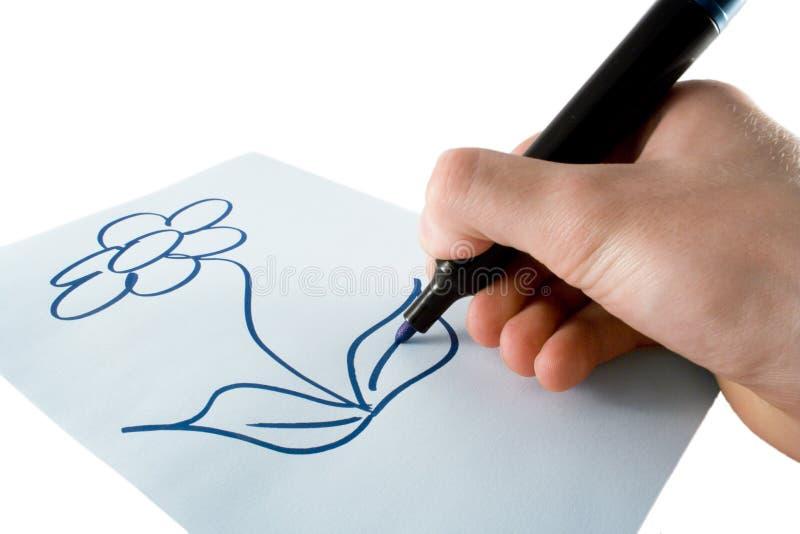 чертеж стоковое изображение