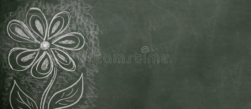 чертеж chalkboard стоковая фотография