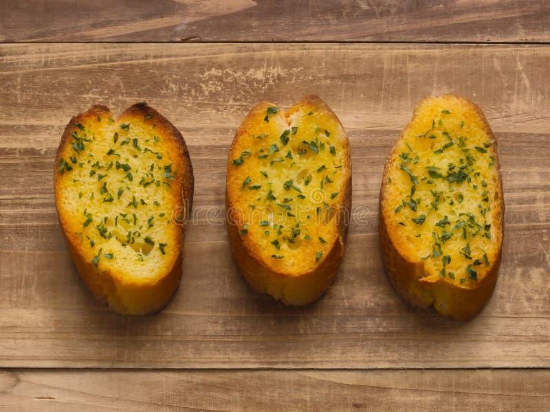 чеснок хлеба стоковые изображения