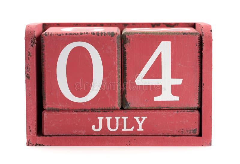 Четверть от июля стоковые изображения