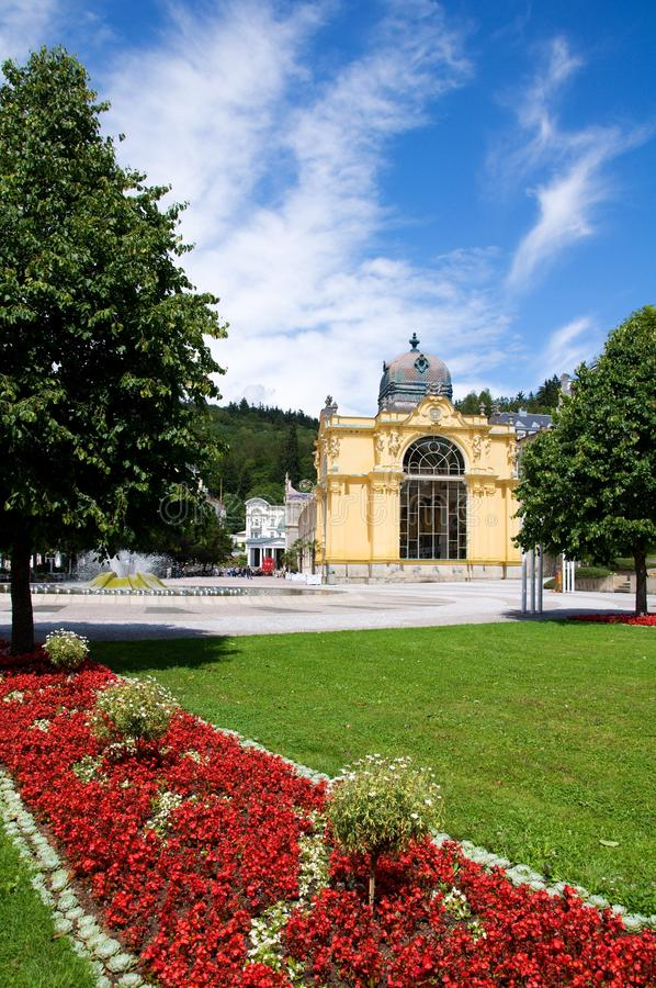 чехословакская республика marianske lazne стоковая фотография