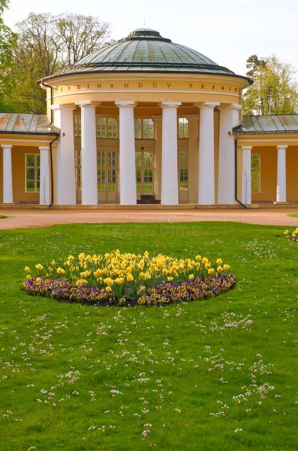 чехословакская спа республики marienbad marianske lazne стоковое изображение rf