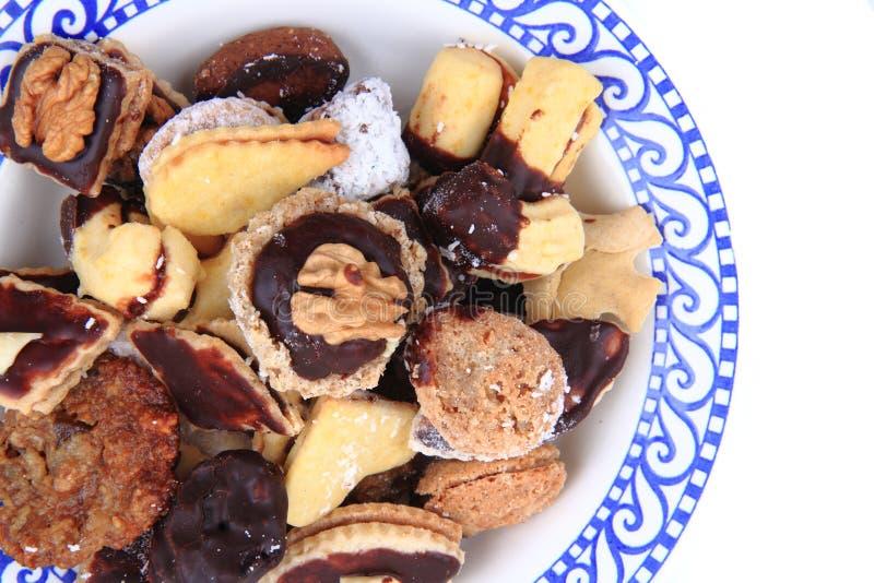Чехословакские печенья рождества стоковая фотография rf