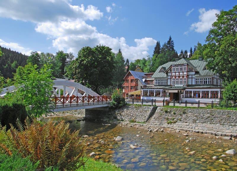 чехословакское гигантское spindler республики гор стана стоковая фотография rf