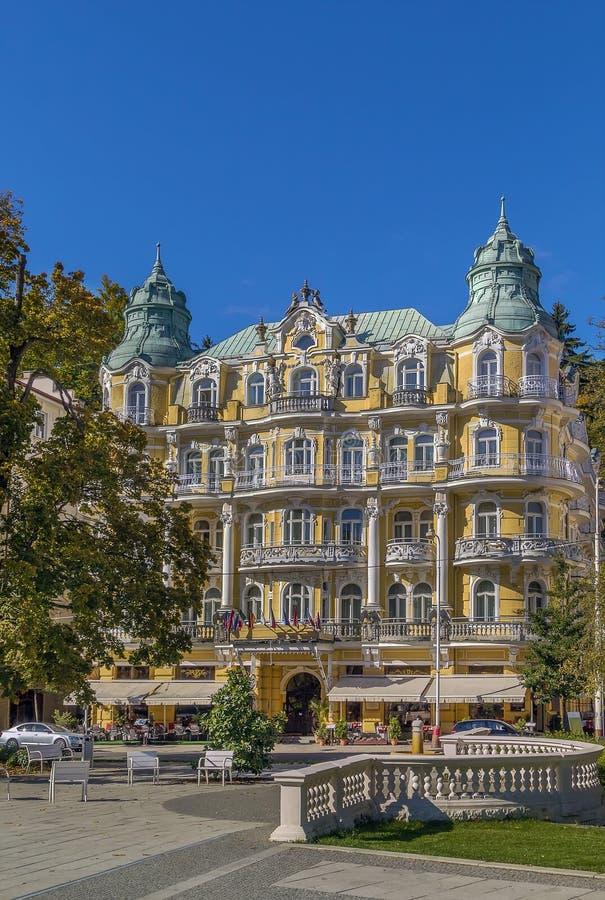 чехословакская республика marianske lazne стоковое фото rf
