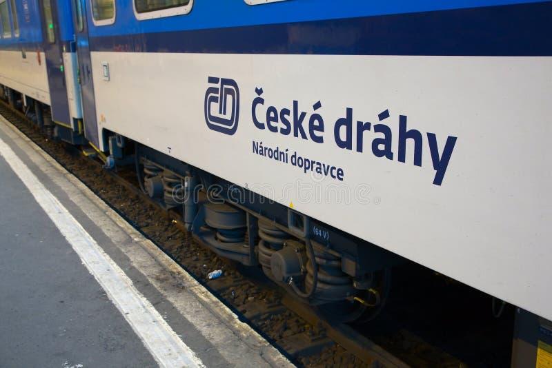 Чехословакская фура железных дорог стоковые фото