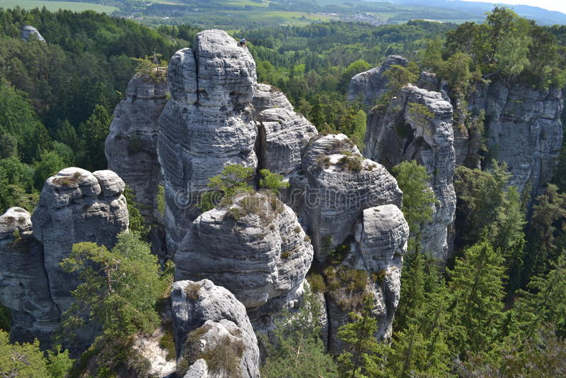 чехословакский рай стоковые фотографии rf