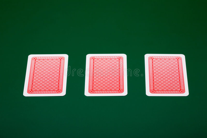 чешет покер стоковые изображения rf