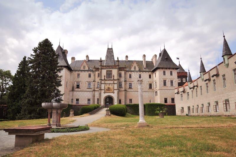 Чешская республика замока zleby стоковые фотографии rf